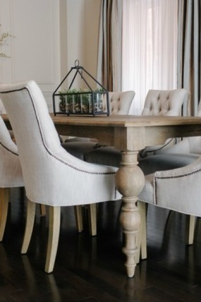 Restoration Hardware Swedish Demi-Lune Chair - copycatchic