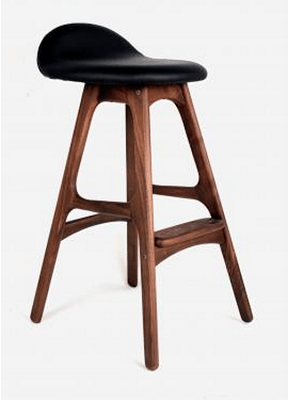 control brand erik buck mid century counter stool