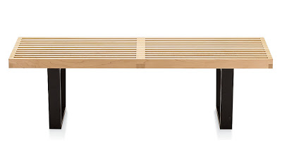 design within reach nelson platform bench
