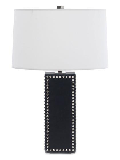 Fancy Mitchell Gold Bob Williams Stud Table Lamp