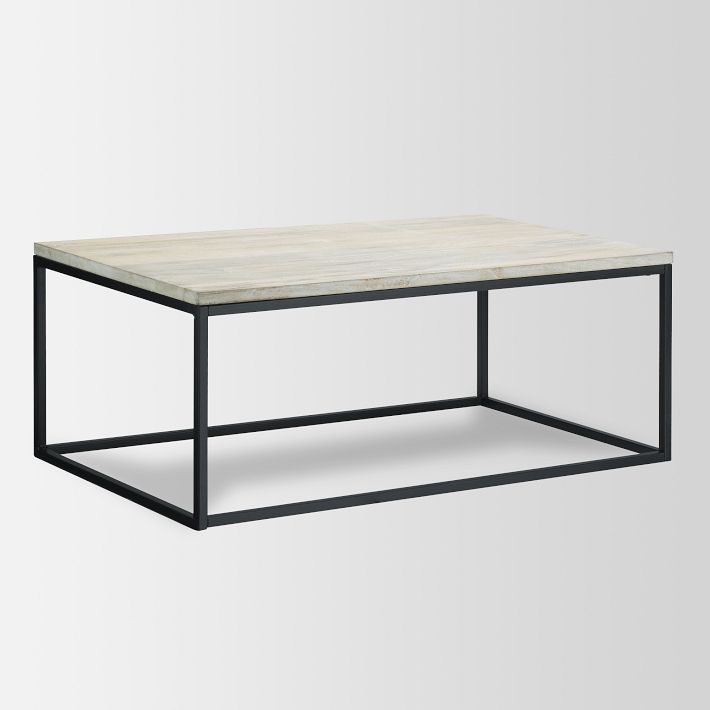 Perfect West Elm Box Frame Coffee Table