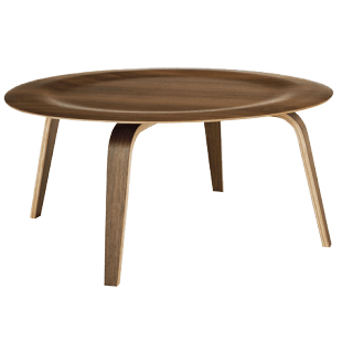 Amazing Eames Molded Plywood Coffee Table