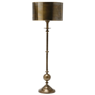 Good Layla Grayce Arteriors Vance Antique Brass Candlestick Lamp