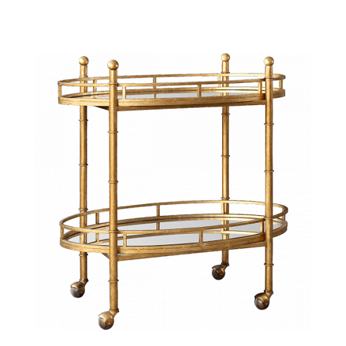 Pure Home Gold Normandy Bar Cart. Pure Home Archives   copycatchic