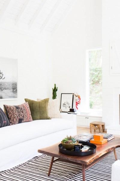 Copy Cat Chic Room Redo   Modern Bohemian Living Room - copycatchic