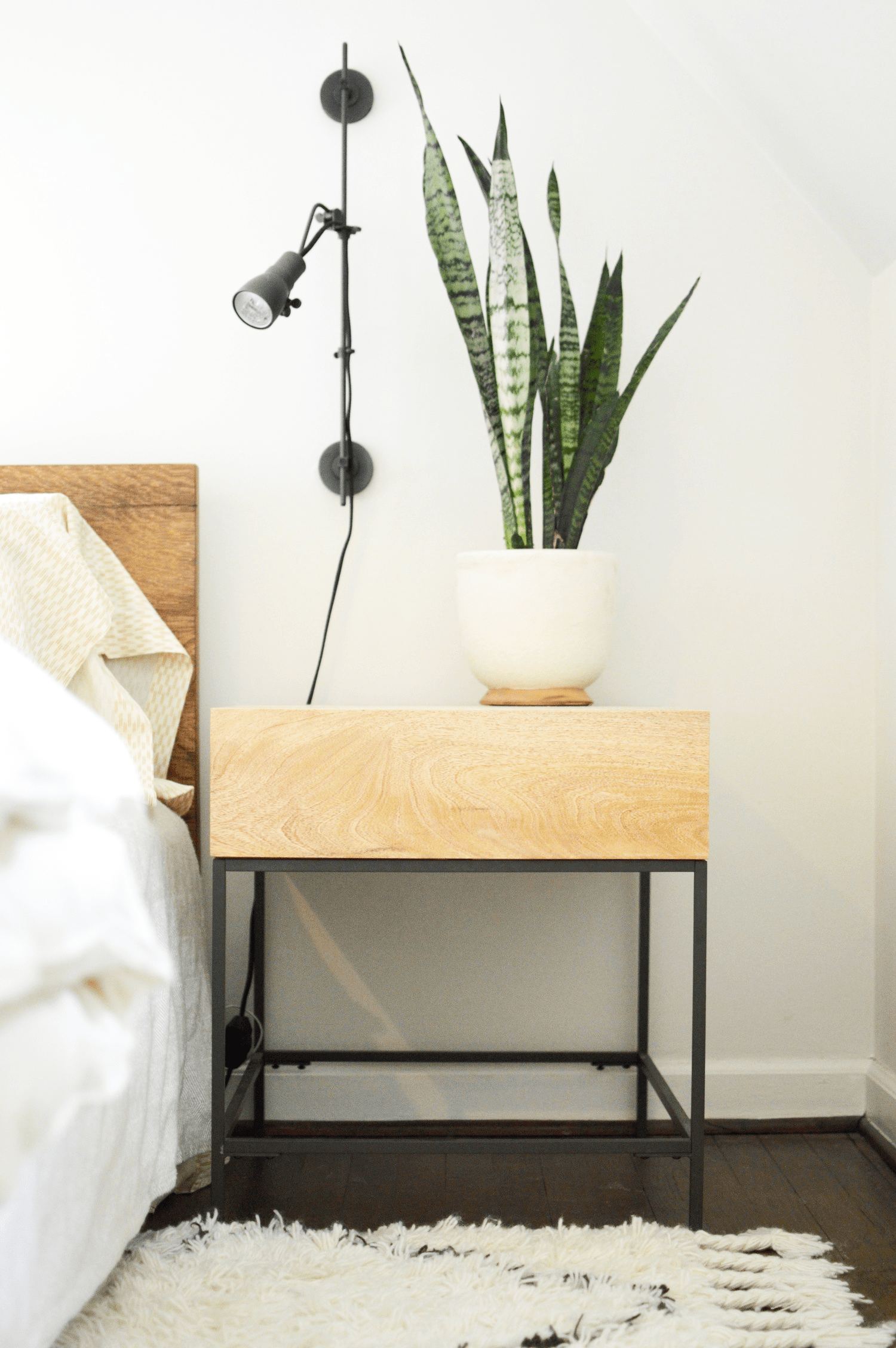 Cool West Elm Industrial Storage Side Table