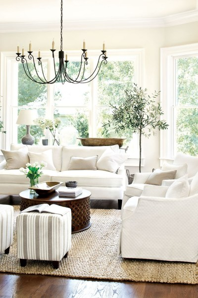 redo living room. Copy Cat Chic Room Redo  Bright White and Tan Living Eclectic Textural copycatchic