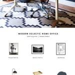 Copy Cat Chic Room Redo Modern Eclectic Home Office Copycatchic