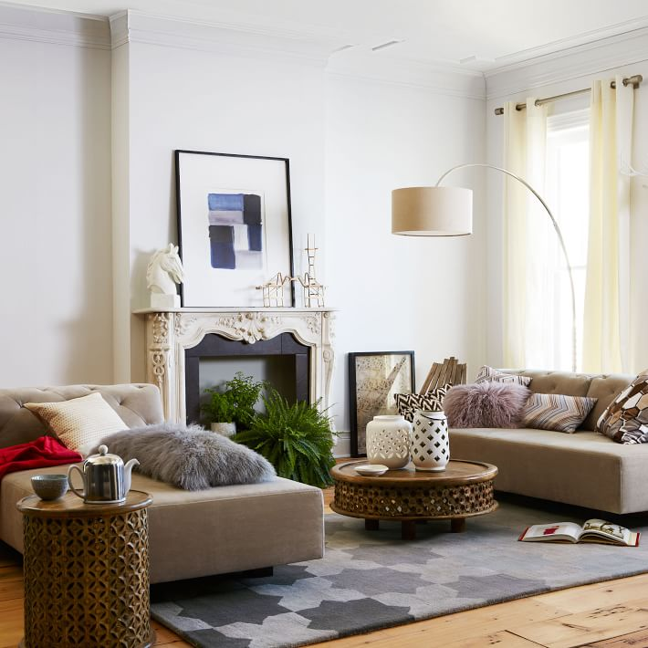 Daily Find West Elm Natural Tree Stump Side Table copycatchic
