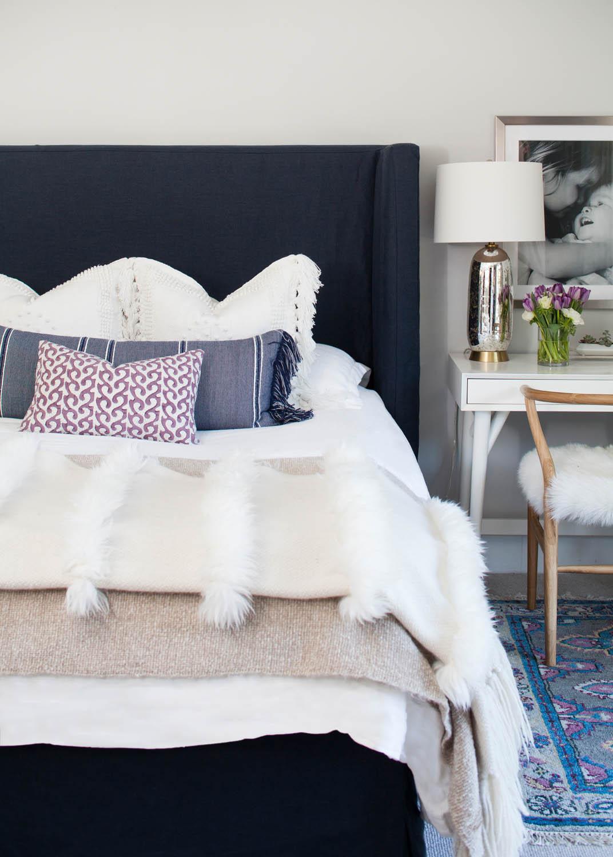 Room Redo Vibrant Textural Bedroom Copycatchic