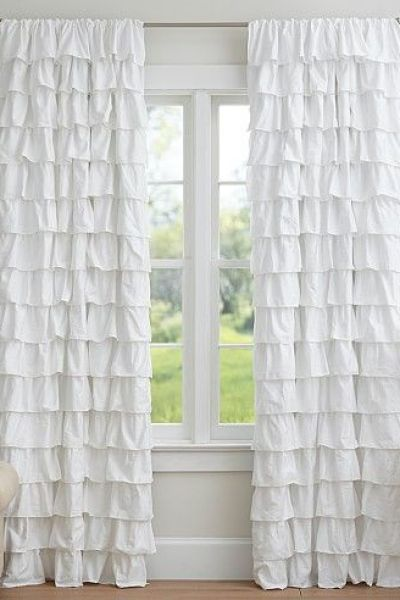 fair org cotton preppy shower pottery and liner barn curtains home organic guachimontones curtain fabric trade piped