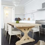 Daily Find Restoration Hardware Salvaged Wood X Base Dining Table Copycatchic