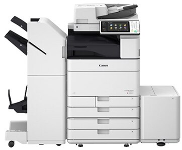 Canon imageRUNNER Advance C5550i with sorter.