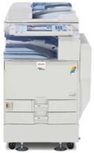 Ricoh Aficio MP C4501 is known for its fast, high-quality output at 45PPM.  Add high-quality color to your projects without the risk of misuse. Reduce unnecessary output with Locked Print, as well as the User Account Limit feature. Remarkably Energy Efficient!