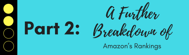 A Further Breakdown of Amazon's Rankings