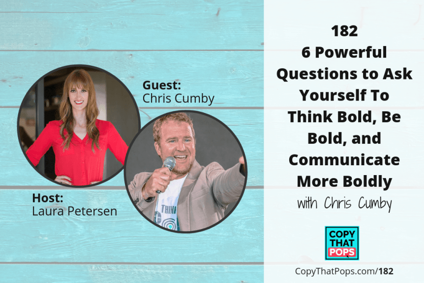 182 chris cumby - image for Copy That Pops podcast episodes on blog