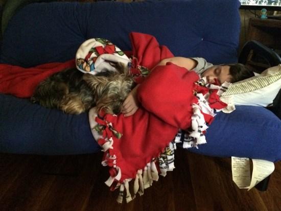 The traditional post-Christmas coma.