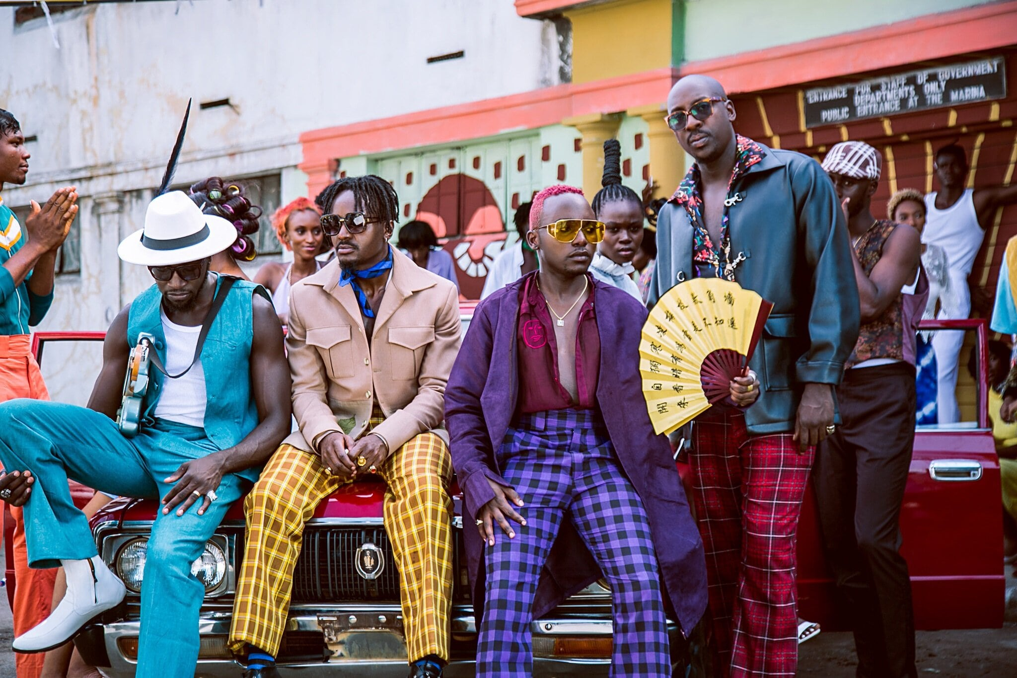 Sauti Sol - Suzanna [Official Video] - Février 2020 - Kenya - Coqlakour