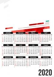 calendrier photo 30x43cm format a3 charles leclerc ferrari