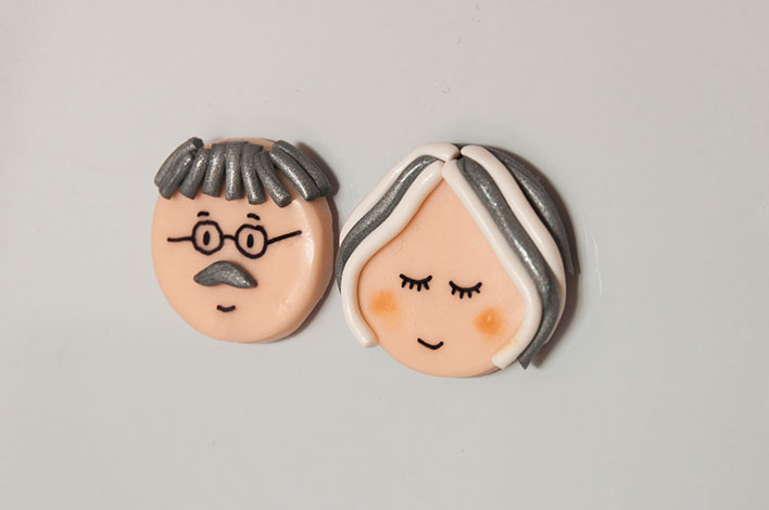 magnet papy mamie