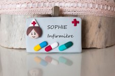badge infirmiere
