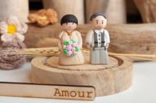 cake topper couple mariage