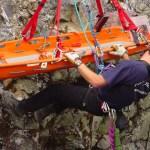 Rope Rescue - Whistler Aug 2003