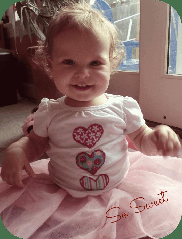 DIY Valentines Day T-shirt Heart Applique Tutorial
