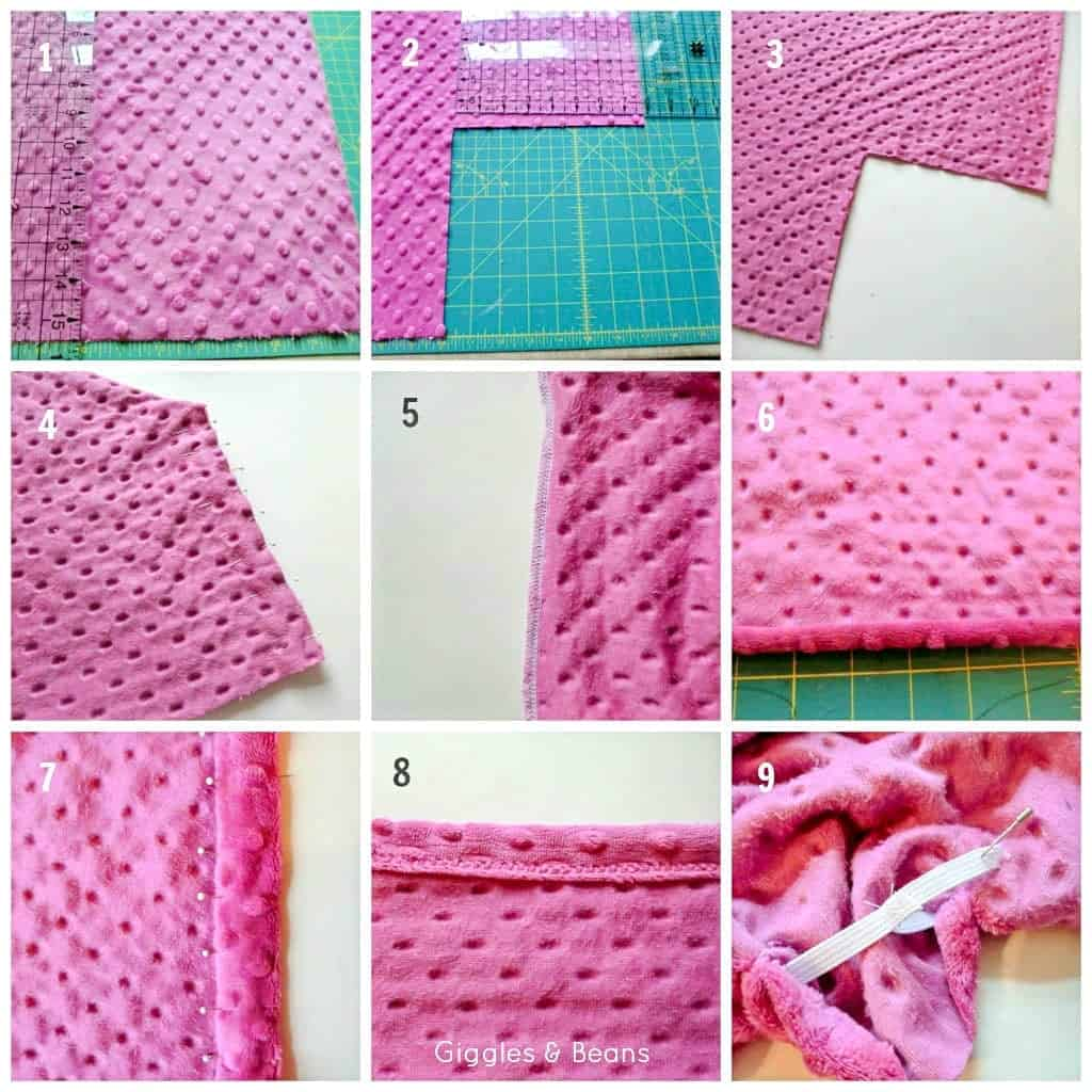 steps how to make a crib sheet