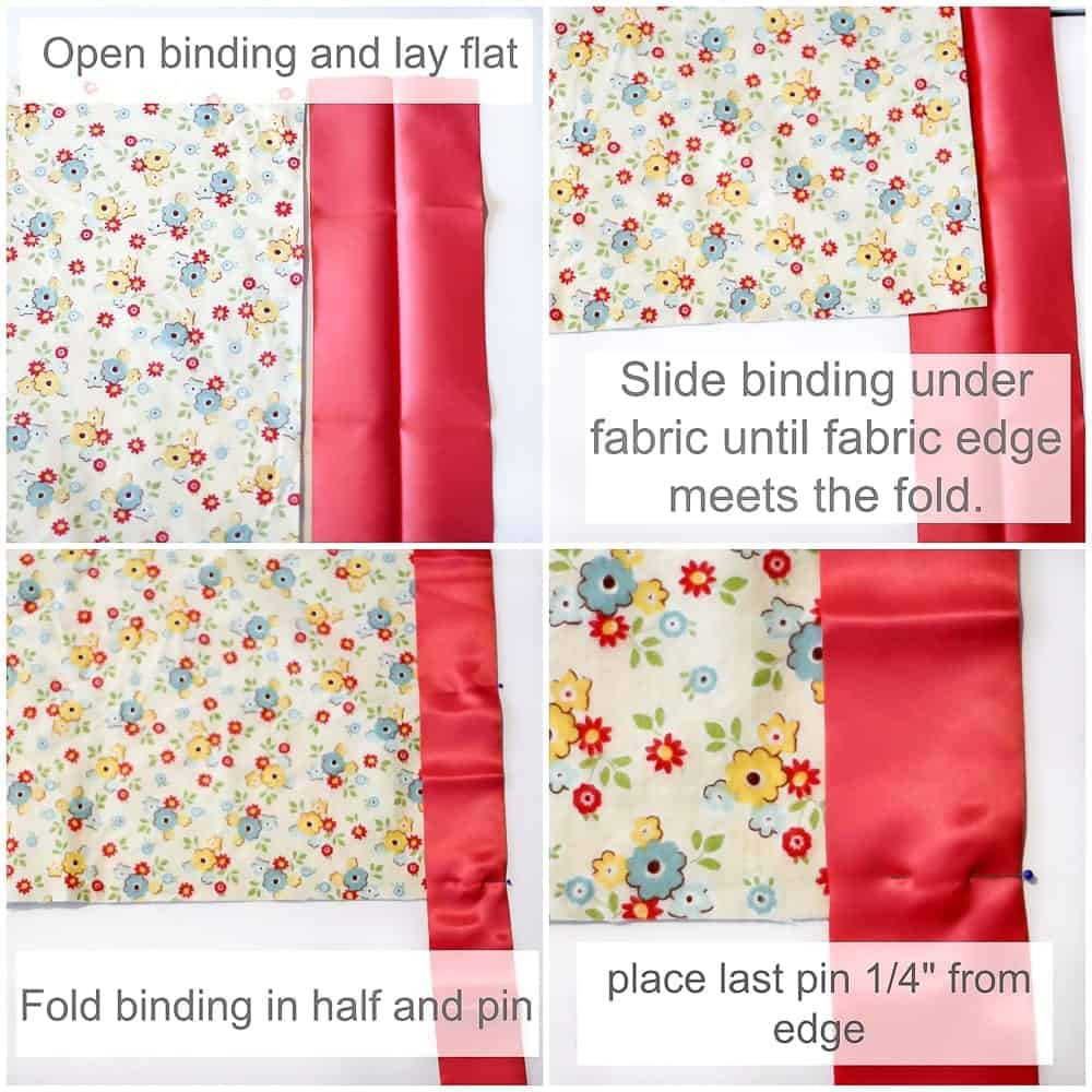 how-to-fold-satin-blanket-binding-on-fabric