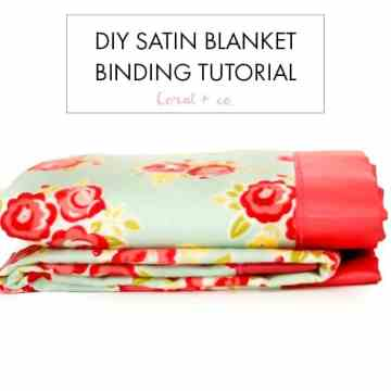 How-to-sew-blanket-binding-tutorial-easy-diy-baby-blanket-tutorial-sewing-for-baby-coral-and-co