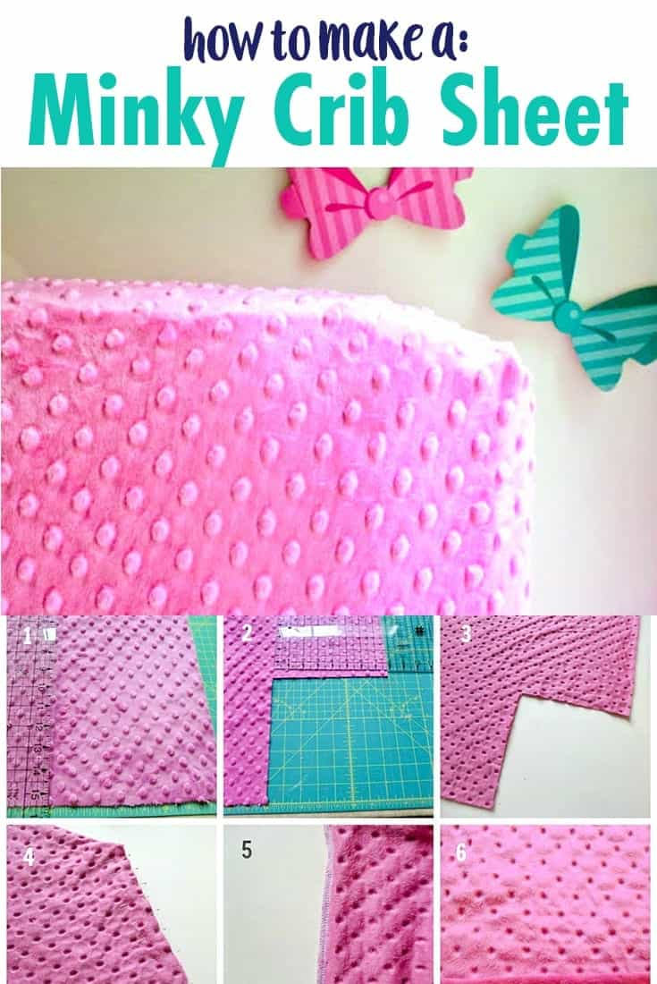 how-to-make-a-minky-crib-sheet