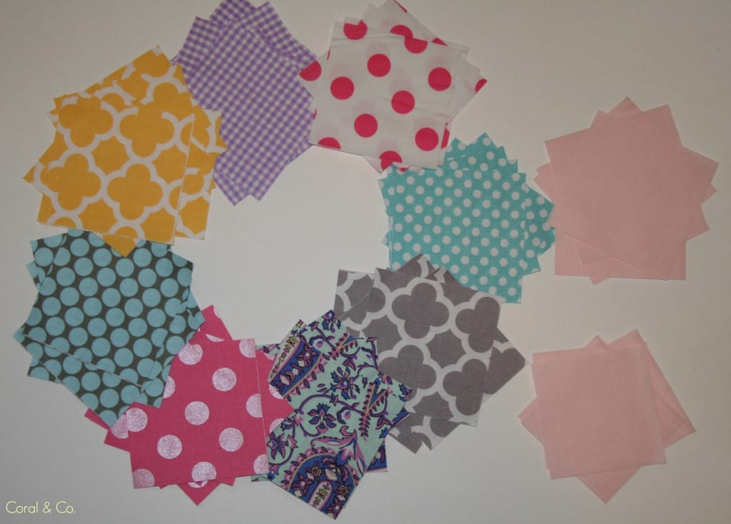 Star Flower Quilt Block Tutorial - Coral + Co. : star flower quilt block pattern - Adamdwight.com