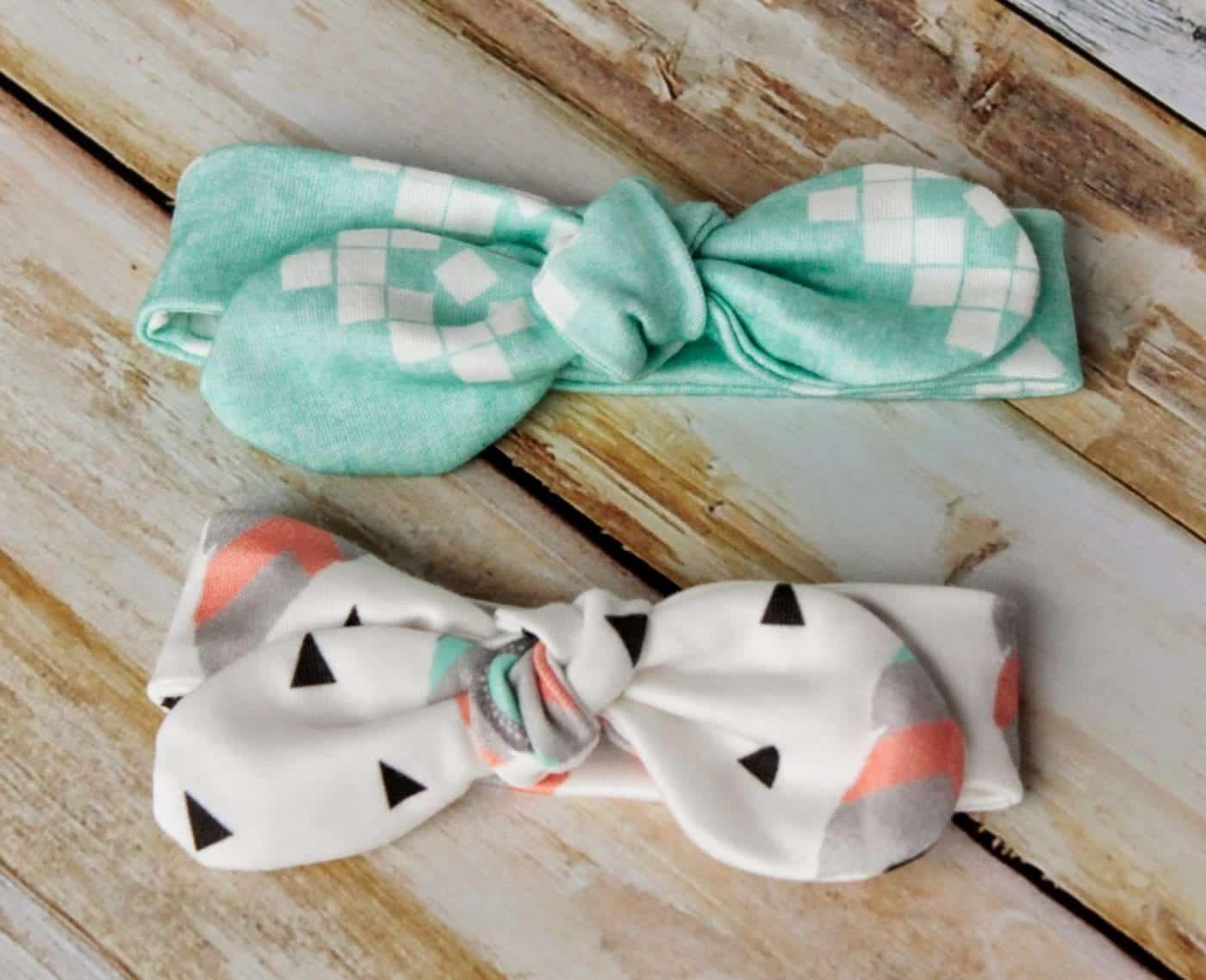 Knot Bow Headband Pattern And Tutorial Easy Diy Headband