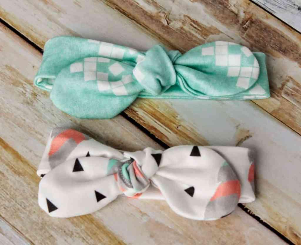 Knot Bow Headband Pattern And Tutorial Easy Diy Baby