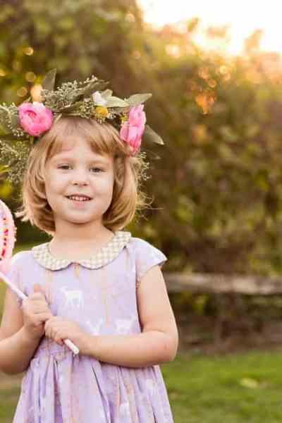 A Christmas Caroline Party Dress for Ava