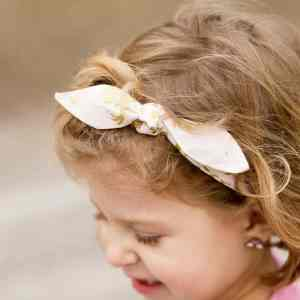 Woven Knotted Bow Headband Pattern with SVG Cut Files for Cricut Maker