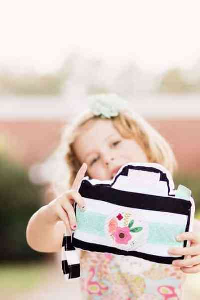 Little Photographer Camera Pattern – A Handmade Gift for Toddlers