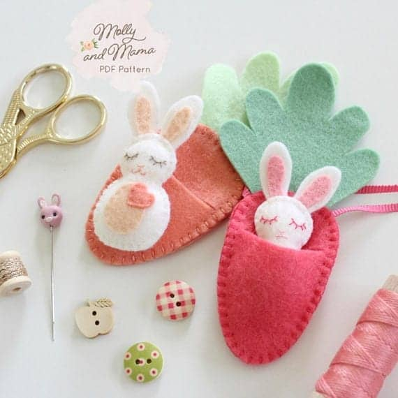 50 Easter Sewing Projects and Easy Easter Craft Ideas