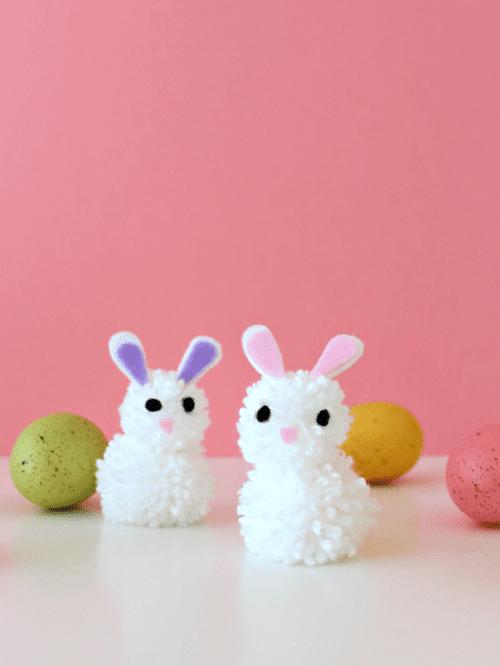diy-pom-pom-bunny-easter
