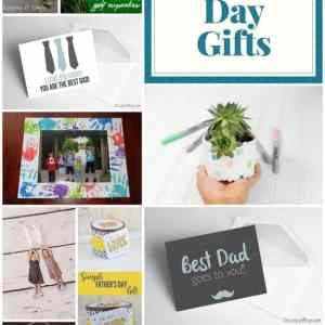 Fantastic DIY Father's Day Gifts + Block Party Link Up