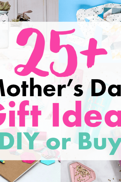 Best DIY Mother's Day Gift Ideas for Crafters to Make or Buy