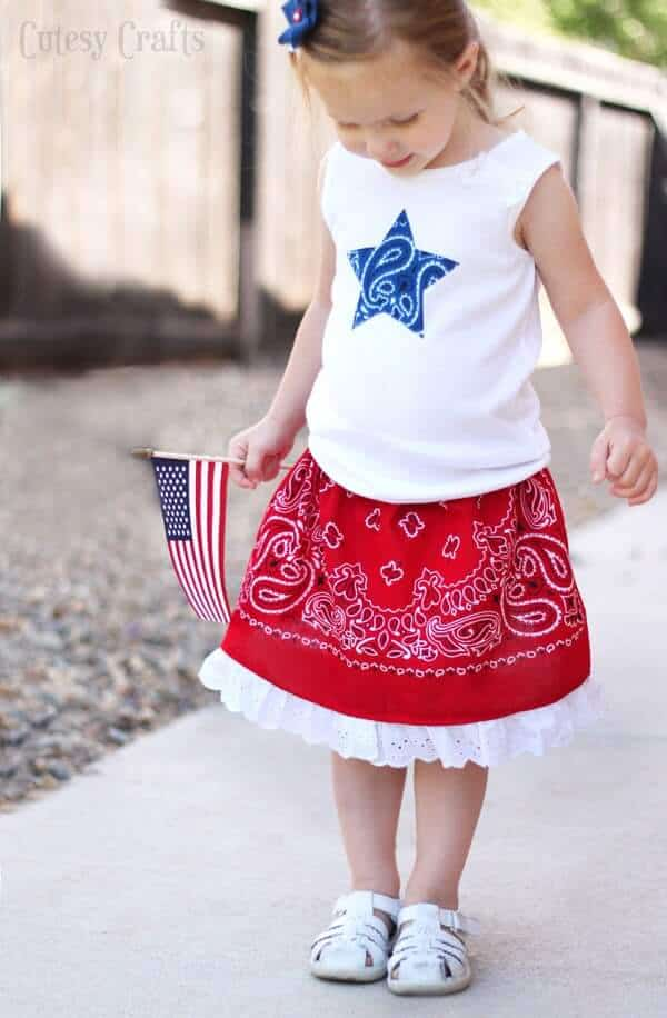 4th-of-july-outfit-bandana-skirt