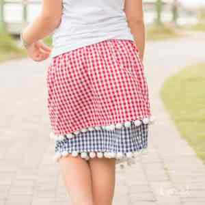 4th of July Skirt Pattern and Tutorial