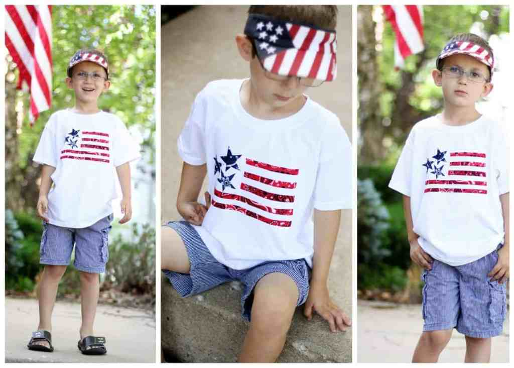 flag-bandanas-shirt-diy-4th-of-july