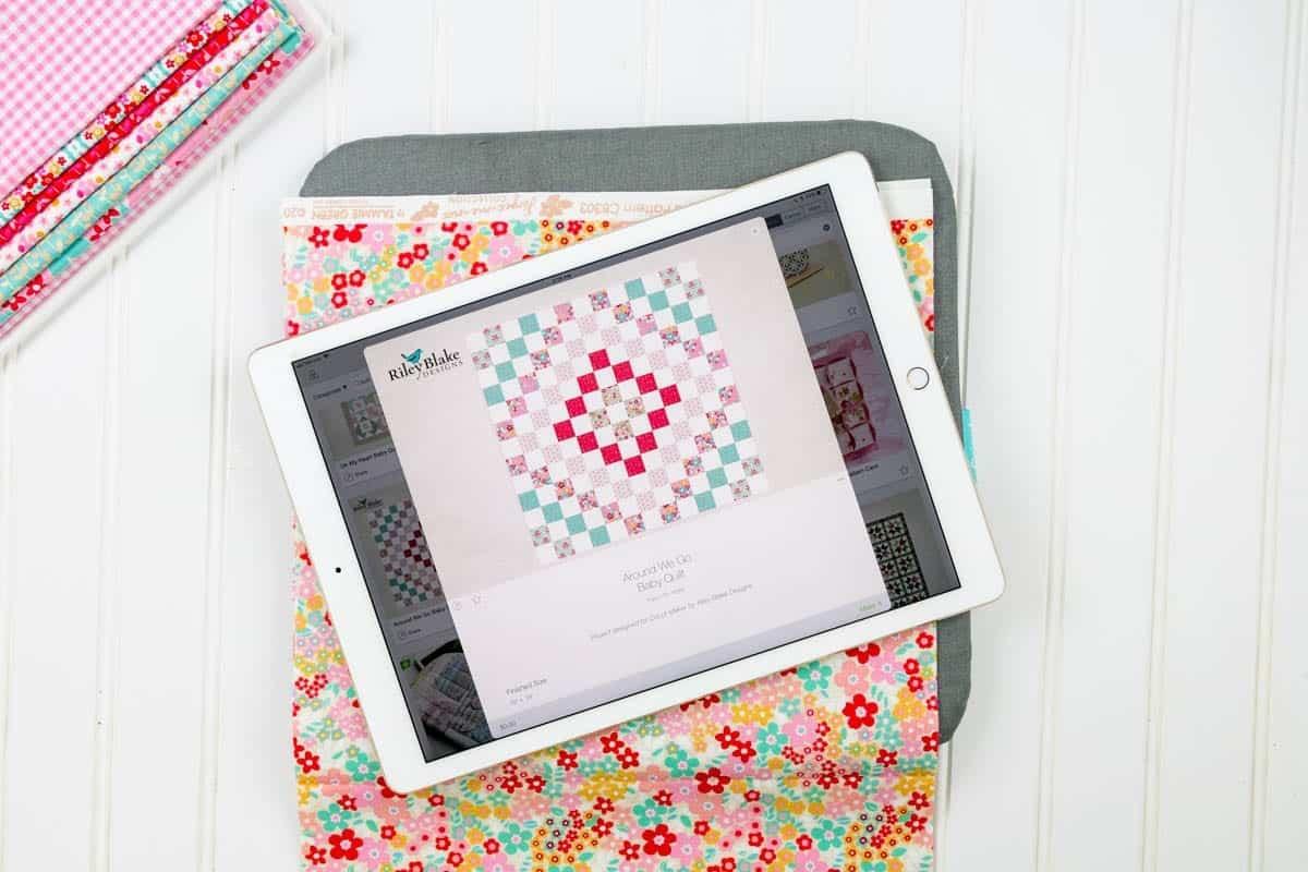 around-we-go-baby-quilt-pattern-cricut-design-space