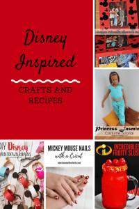 DIY Disney Inspired Crafts and Recipes!