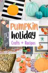 DIY Pumpkin Crafts, Decor, and Recipes