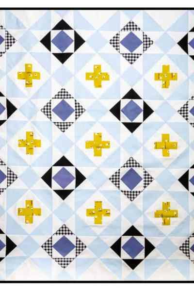 Announcing the Nordic Crossing Quilt Pattern and Sew Along