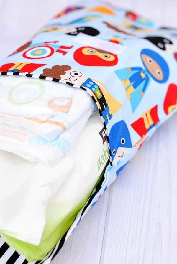 Cute & Easy Diaper Clutch Pattern